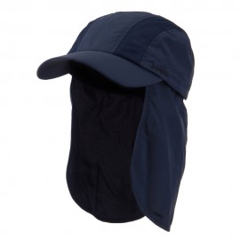 UV 50+ Talson Cap with Detachable Flap - Navy