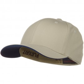 Flexfit Cool and Dry Transvisor Cap - Khaki Navy