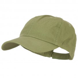 Low Profile Dyed Cotton Twill Cap - Cactus