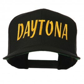 Daytona Embroidered Flat Bill Cap