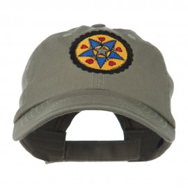 Dutch Motif Embroidered Cap
