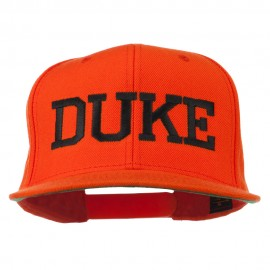 Halloween Character Duke Embroidered Snapback Cap