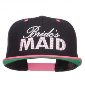 Bridesmaid Embroidered Two Tone Snapback