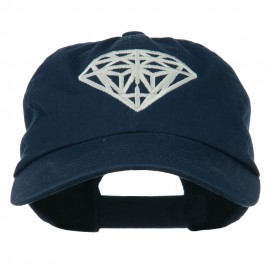 Diamond Jewelry Logo Embroidered Low Profile Washed Cap