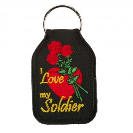 Embroidered Army Key Chains