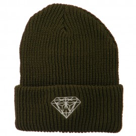 Diamond Embroidered Watch Cap