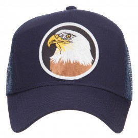 Eagle Military Patched Mesh Cap