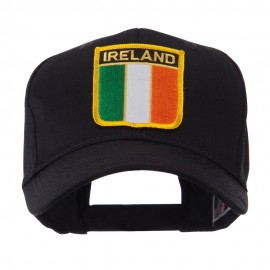 Europe Flag Shield Patch Cap - Ireland