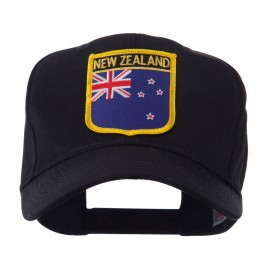 Europe Flag Shield Patch Cap - New Zealand