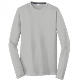 Men's Big Size Sport-Tek Long Sleeve Competitor Cotton Touch T-Shirt