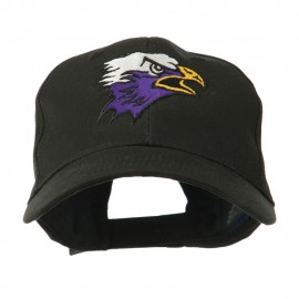 SM Eagle Head Mascot Embroidered Cap