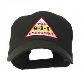 911 Emergency Logo Embroidery Cap