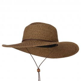 Women's Paper Straw wide Brim Sun Hat