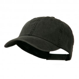 Essential Pigment Dyed Cap - Black