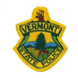 Eastern State Police Embroidered Patches - VT State