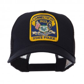USA Eastern State Police Embroidered Patch Cap - CT State