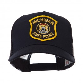 USA Eastern State Police Embroidered Patch Cap - MI State