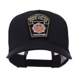 USA Eastern State Police Embroidered Patch Cap - PA State