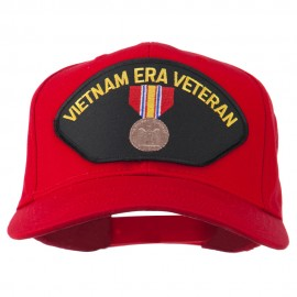 Vietnam ERA Veteran Patched Solid Cotton Twill Cap