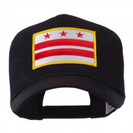 USA Eastern State Embroidered Patch Cap - DC