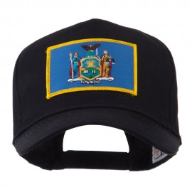 USA Eastern State Embroidered Patch Cap - New York