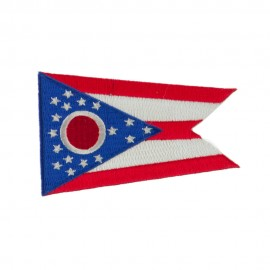 Eastern State Embroidered Patches - Ohio