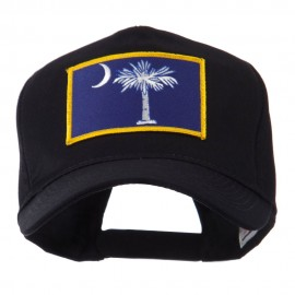 USA Eastern State Embroidered Patch Cap - South Carolina