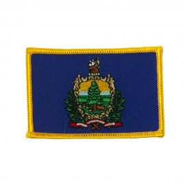Eastern State Embroidered Patches - Vermont