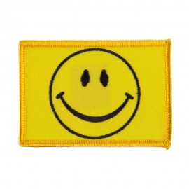 ETC Embroidered Military Patch - Smile