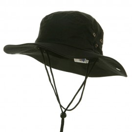 Fishing Hat (01)-Black