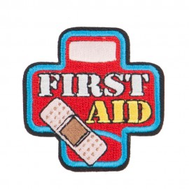 First Aid Embroidered Patches