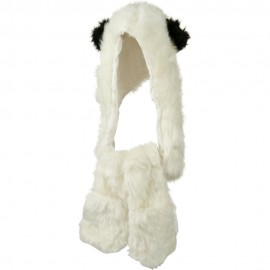 Furry Animal Hat with Paws