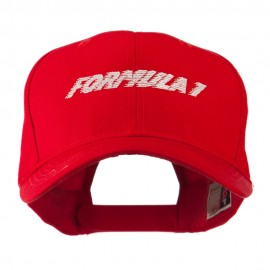 Formula 1 for Racing Cars Embroidered Cap