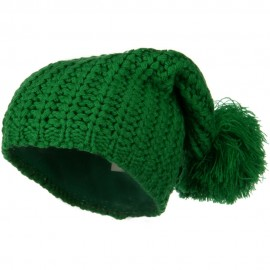 Fall Back Pom Pom Knit Hat