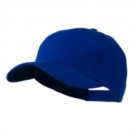 Cotton Twill Adjustable Cap - Royal