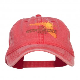 Florida Sunshine State Embroidered Cap