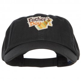 Father's Day Patched Low Profile Cap