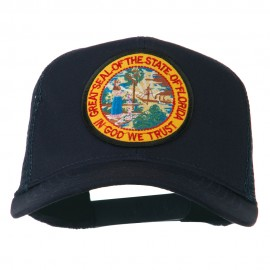 Florida State Patched Mesh Cap - Navy