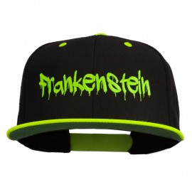 Halloween Frankenstein Embroidered Snapback Cap