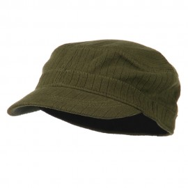 Fitted Fashion Knit Army Cap
