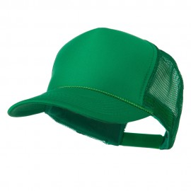 Foam Front Golf Style Mesh Back Cap - Kelly