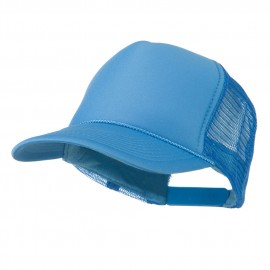 Foam Front Golf Style Mesh Back Cap - Blue