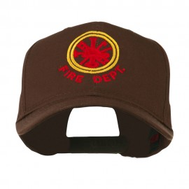 Fire Fighter Dept Symbol Embroidered Cap