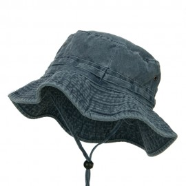 Extra Big Size Fishing Hats-Navy