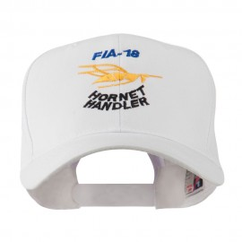 FIA 18 Hornet Handler with Image of a Hornet Embroidered Cap