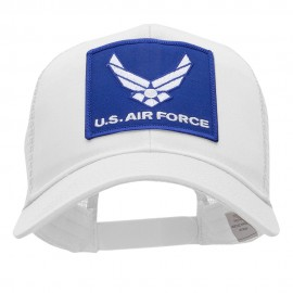 US Air Force Small Wings Patched Cotton Mesh Cap