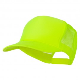 Foam Mesh Neon Trucker - Neon Yellow