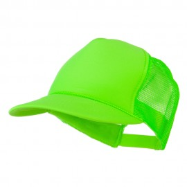 Foam Mesh Neon Trucker - Neon Green