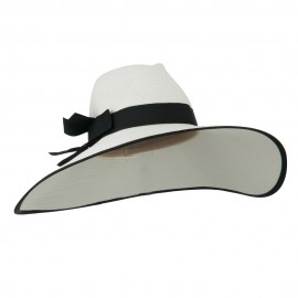UPF 50+ Fedora Crown 6 Inch Brim Hat