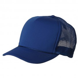 Summer Foam Mesh Trucker Cap - Royal